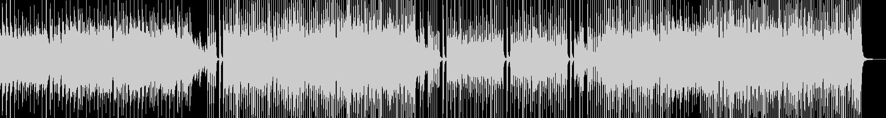 シンプル・後半リズミカルなスィングポップの未再生の波形