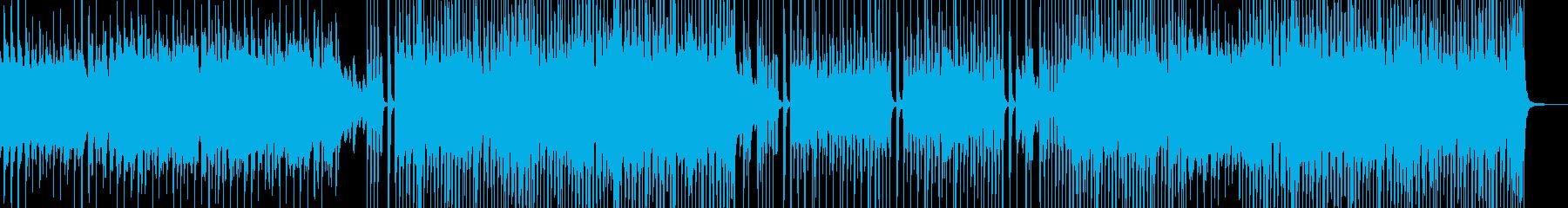 シンプル・後半リズミカルなスィングポップの再生済みの波形