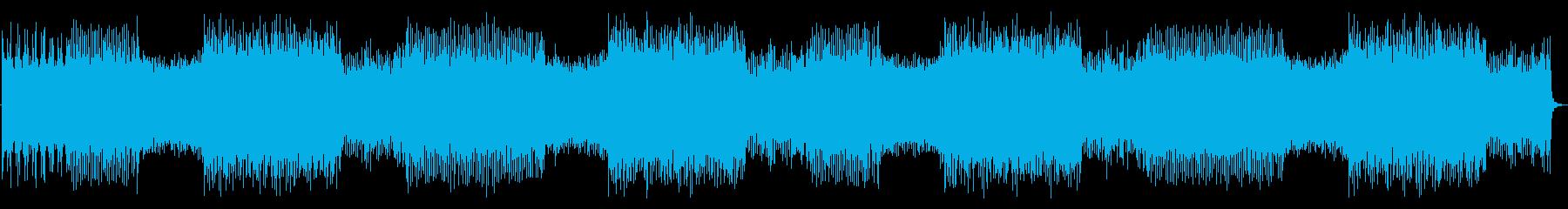 アクションゲーム等BGM(戦闘曲5)の再生済みの波形