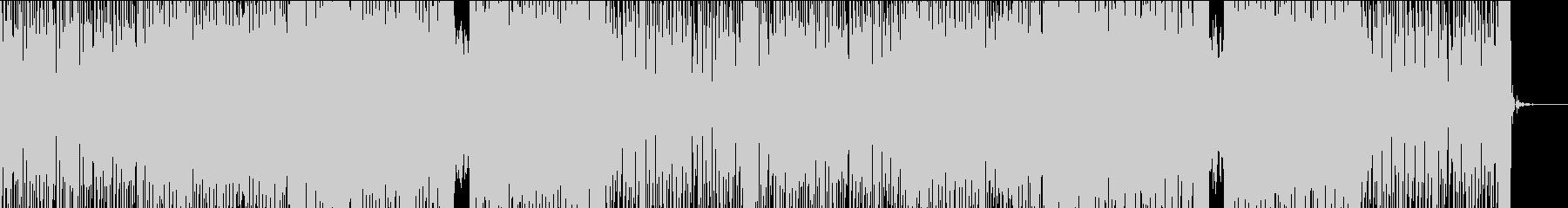 出発をイメージした明るいモダンエレクトロの未再生の波形