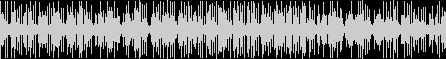 浮遊感のあるピアノエレクトロニカの未再生の波形