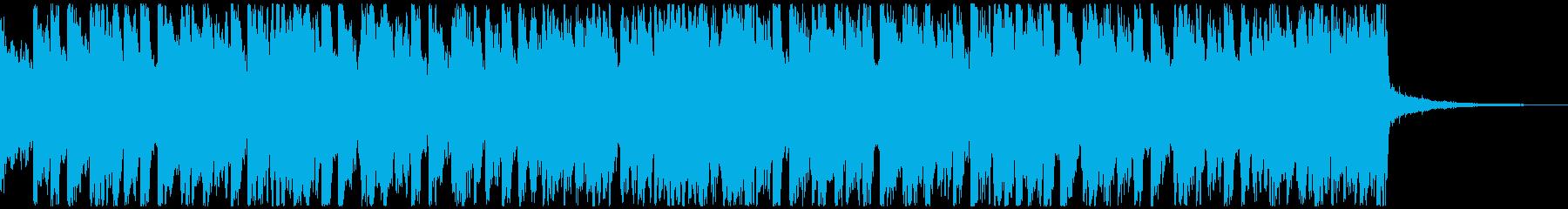 サッカー・スポーツ/情熱的アンセム30秒の再生済みの波形