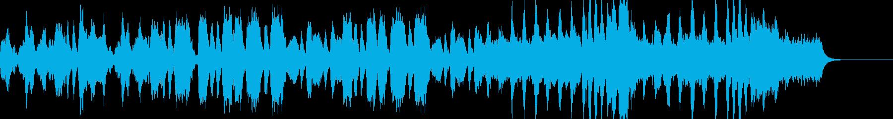 優雅なストリングス室内楽の再生済みの波形