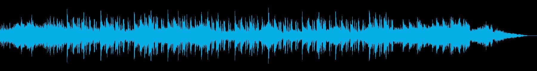 スクエアプッシャーのようなメロディーですの再生済みの波形