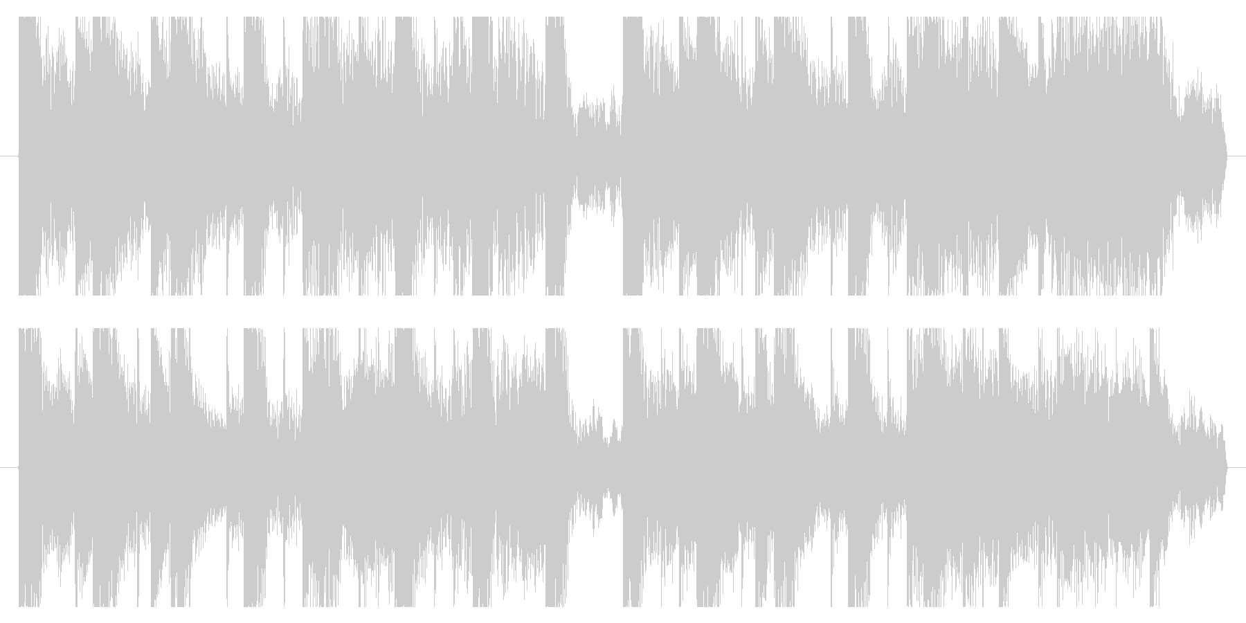 Colorful refreshing and cute exciting jingle's unreproduced waveform