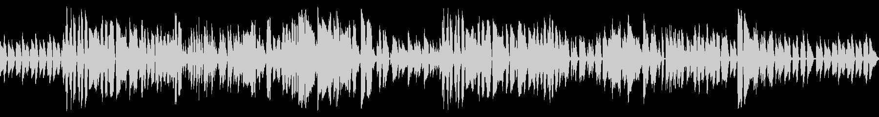 洒落たバーのイメージのクラリネットジャズの未再生の波形