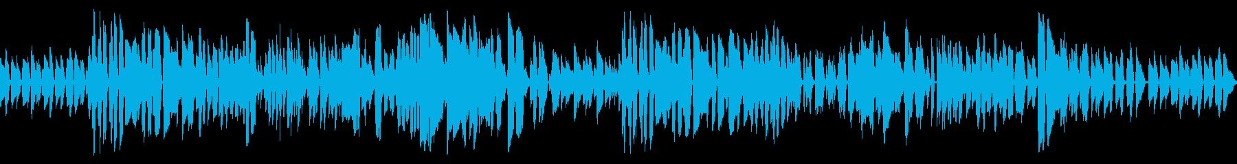 洒落たバーのイメージのクラリネットジャズの再生済みの波形
