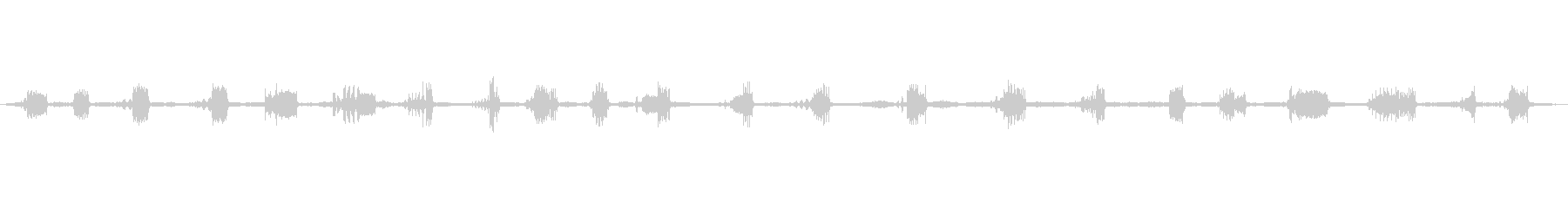 シジュウカラ鳥のチャープ水サーフィ...の未再生の波形