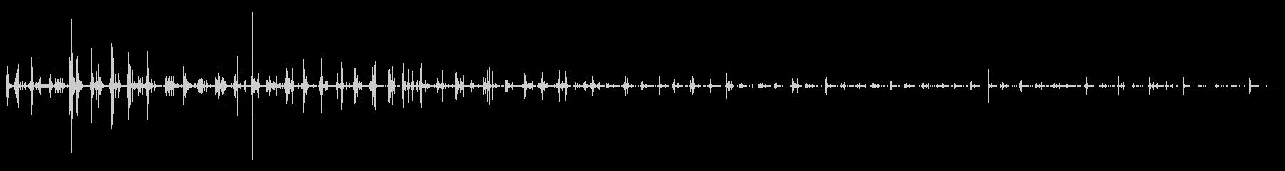 ダートホース:ウォークアウェイの未再生の波形