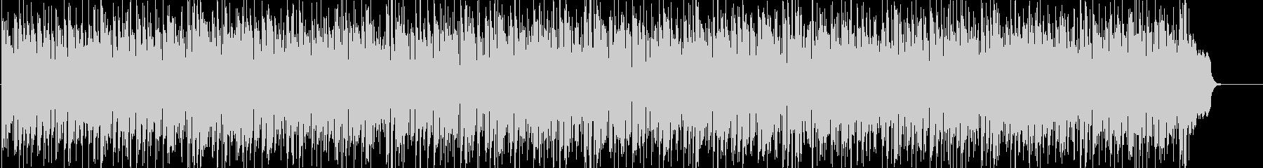 ジャズテイストのボザノバBGMの未再生の波形