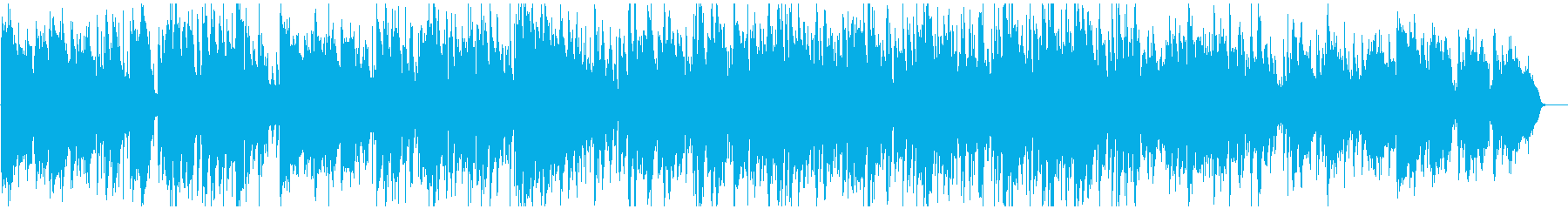 おしゃれ知的スマートジャズ サックス生録の再生済みの波形