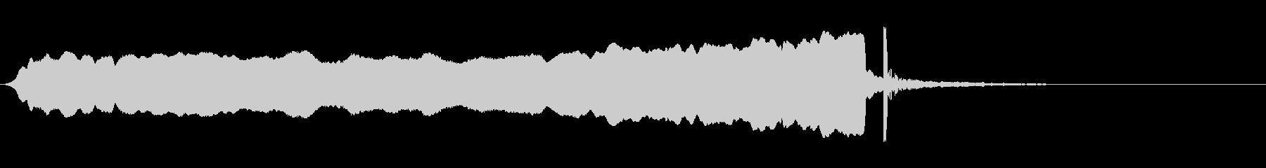 ヒュ〜ポン上昇#3 の未再生の波形