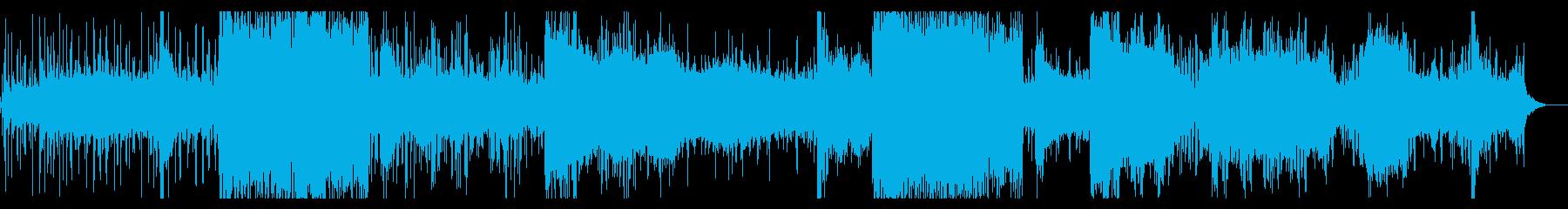グリッジが印象的なIDMの再生済みの波形