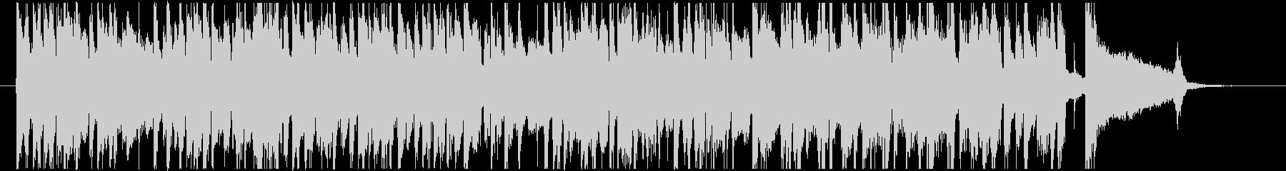 レトロなアコースティックギターBGMの未再生の波形