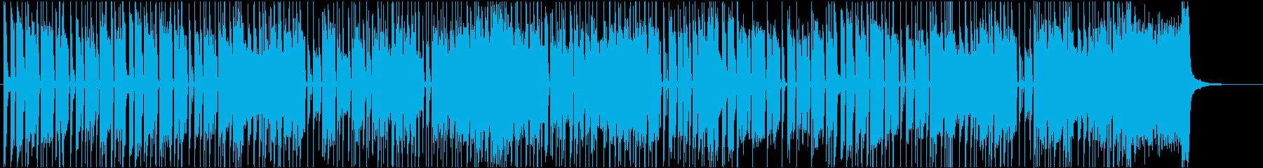 オルガンが主役の陽気なファンクの再生済みの波形