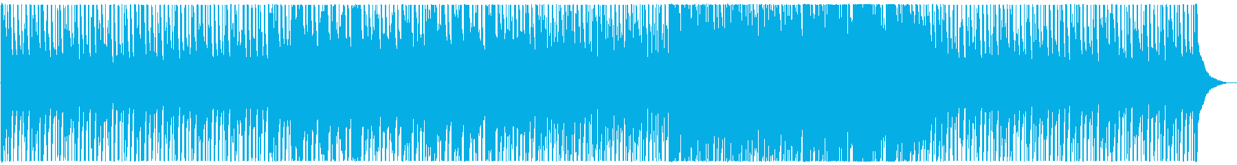 ストリングスとギターの期待が高まるBGMの再生済みの波形