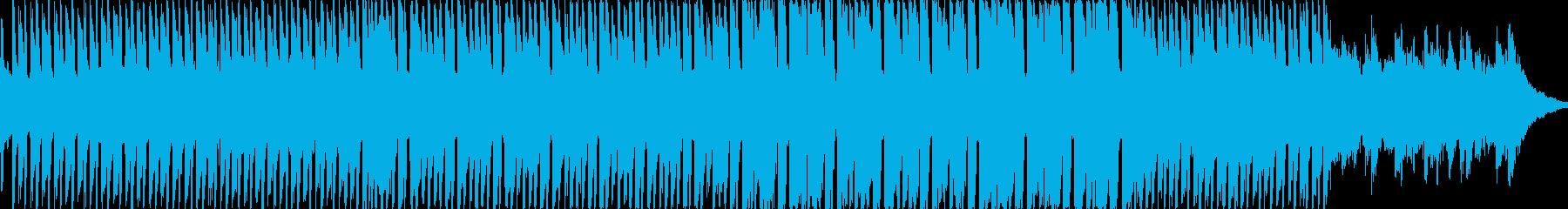 ハッピーな感じのハイテンションな楽曲で…の再生済みの波形