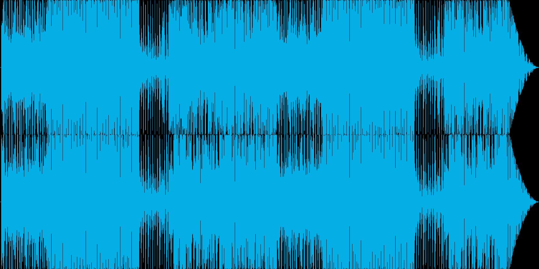 対戦、推理シーンをイメージしたBGMの再生済みの波形