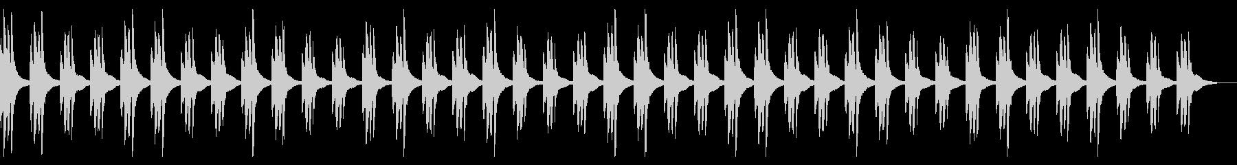 ミステリーな雰囲気のBGMの未再生の波形