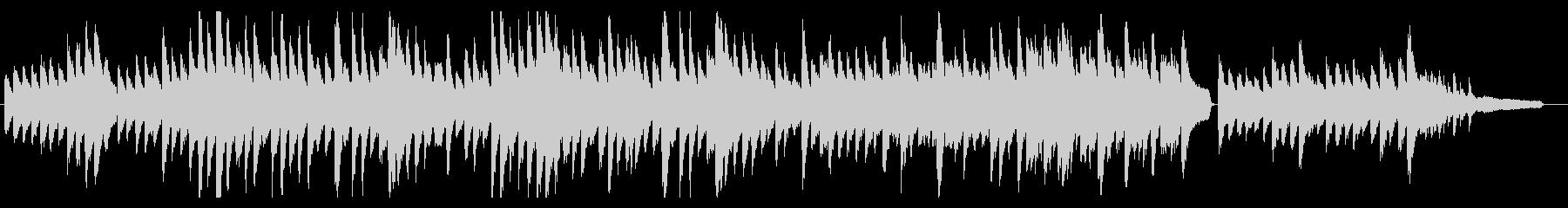 哀しくゆったりとしたソロピアノBGMの未再生の波形