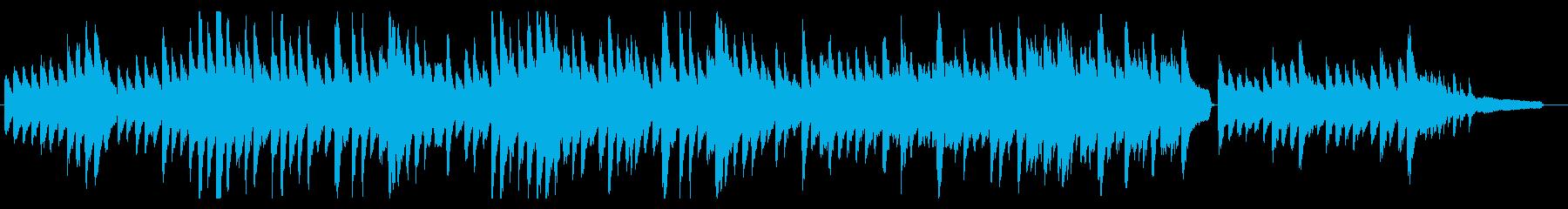 哀しくゆったりとしたソロピアノBGMの再生済みの波形