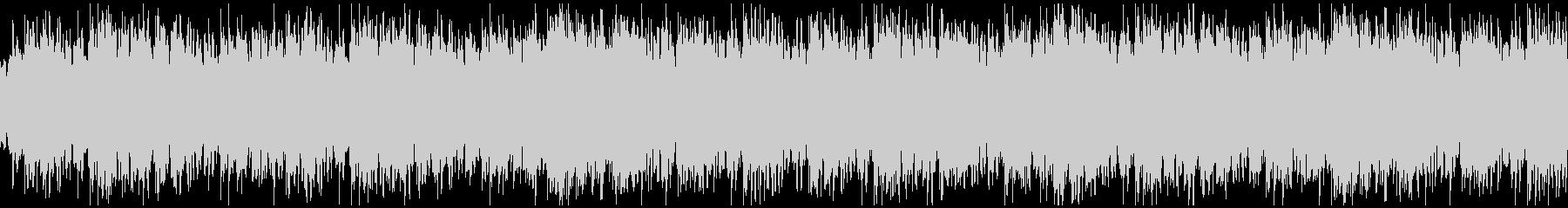 アンビエント系BGMの未再生の波形