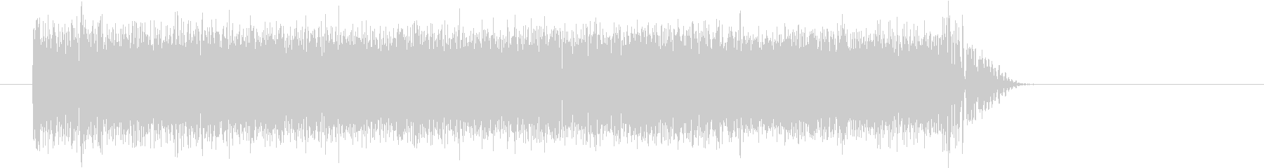 エレキギター ジャーン Eコードの未再生の波形