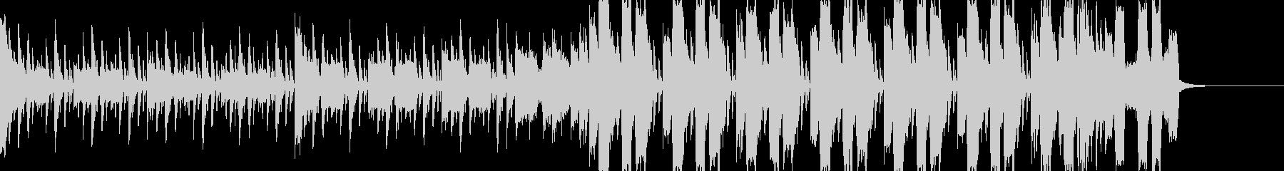 シンプルなチップチューンの未再生の波形