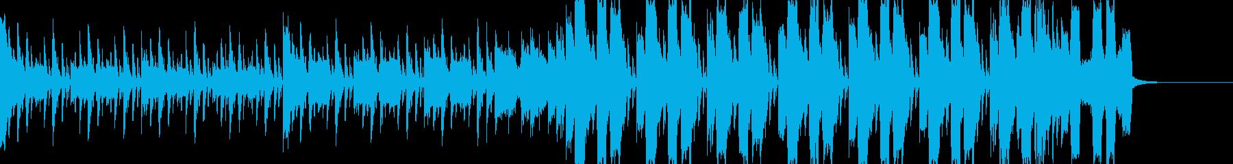 シンプルなチップチューンの再生済みの波形