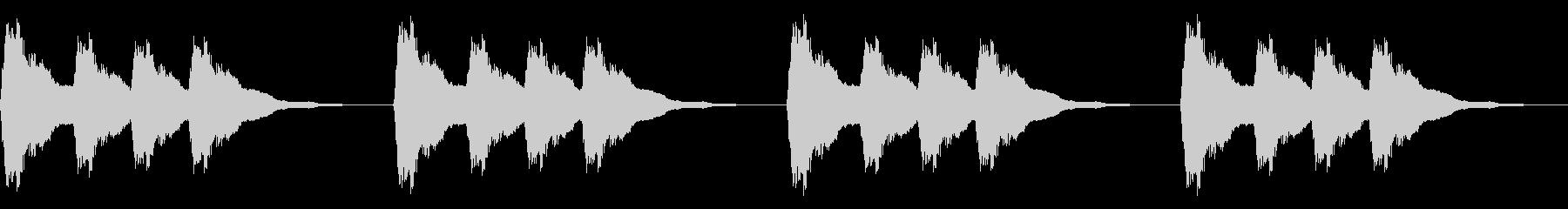 システム アラーム ゴンゴンゴンの未再生の波形