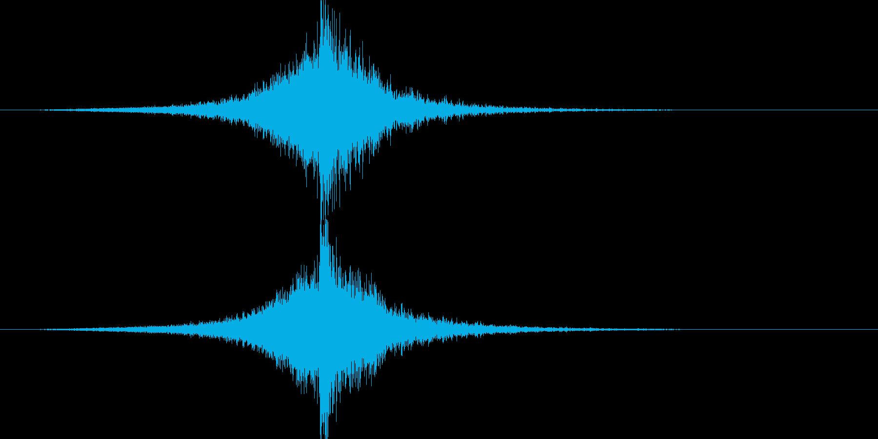 映画告知音131 ドーンの再生済みの波形