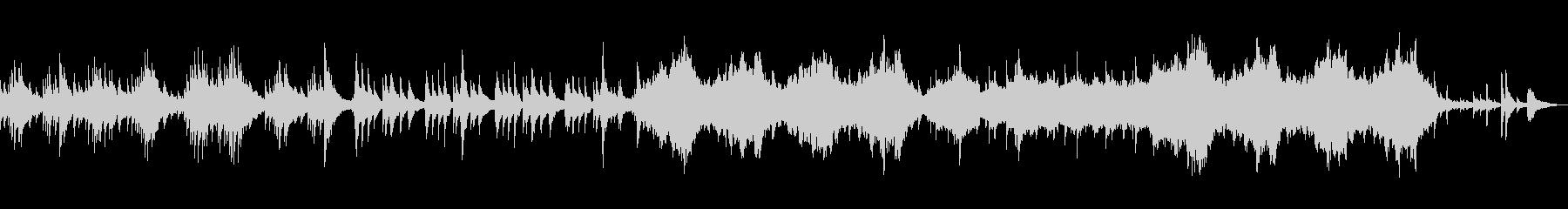 ファンタジーなハープとストリングスの未再生の波形