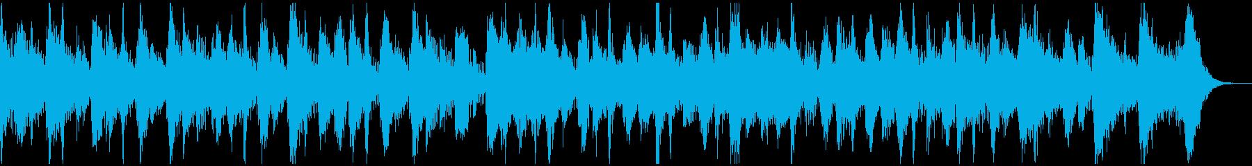プラスの陽気なラテン 15秒タイプの再生済みの波形