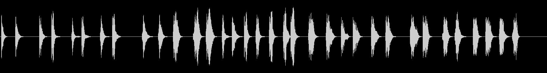 レーザーブラスト、ショート:Alt...の未再生の波形