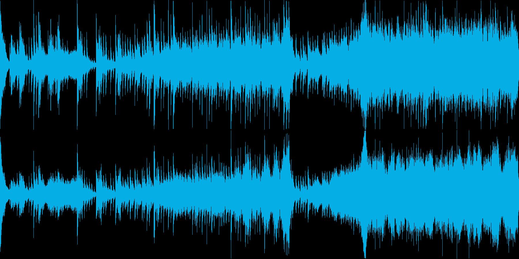 和の雰囲気/感動的なオーケストラ/ループの再生済みの波形