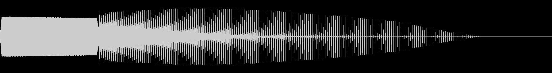 ピボーン(不正解/ファミコン/ブザーの未再生の波形