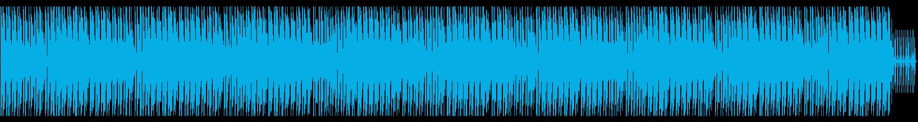 明るく爽やかで、どこか物悲しいメロの曲の再生済みの波形