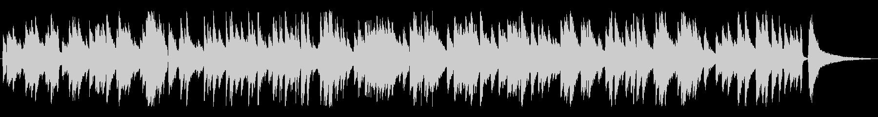 クリスマス/ジャズ風ラウンジピアノソロの未再生の波形