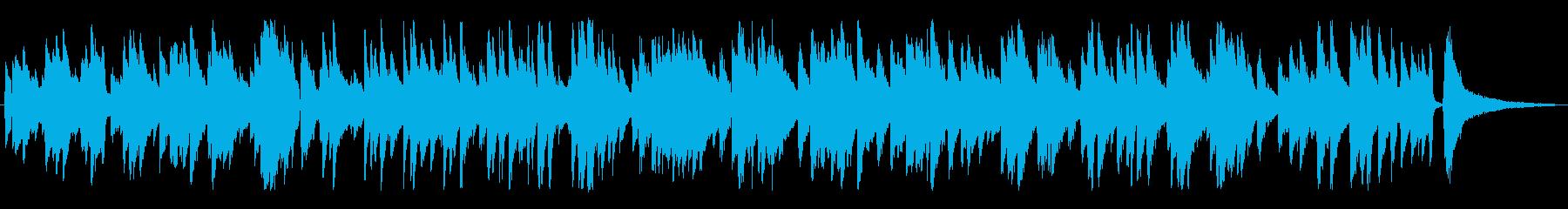 クリスマス/ジャズ風ラウンジピアノソロの再生済みの波形