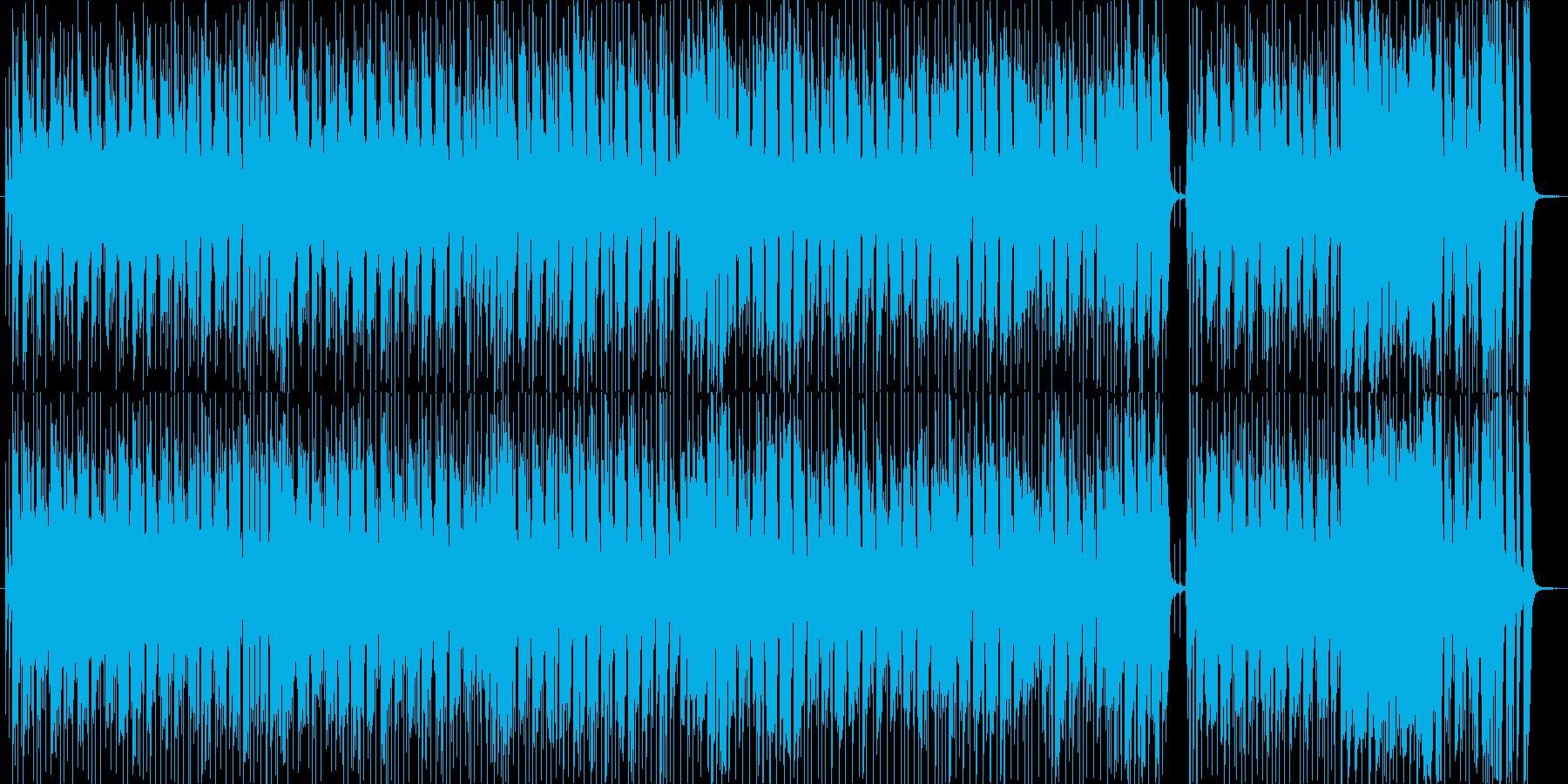 ラテン風の哀しげなソング1_カラオケの再生済みの波形