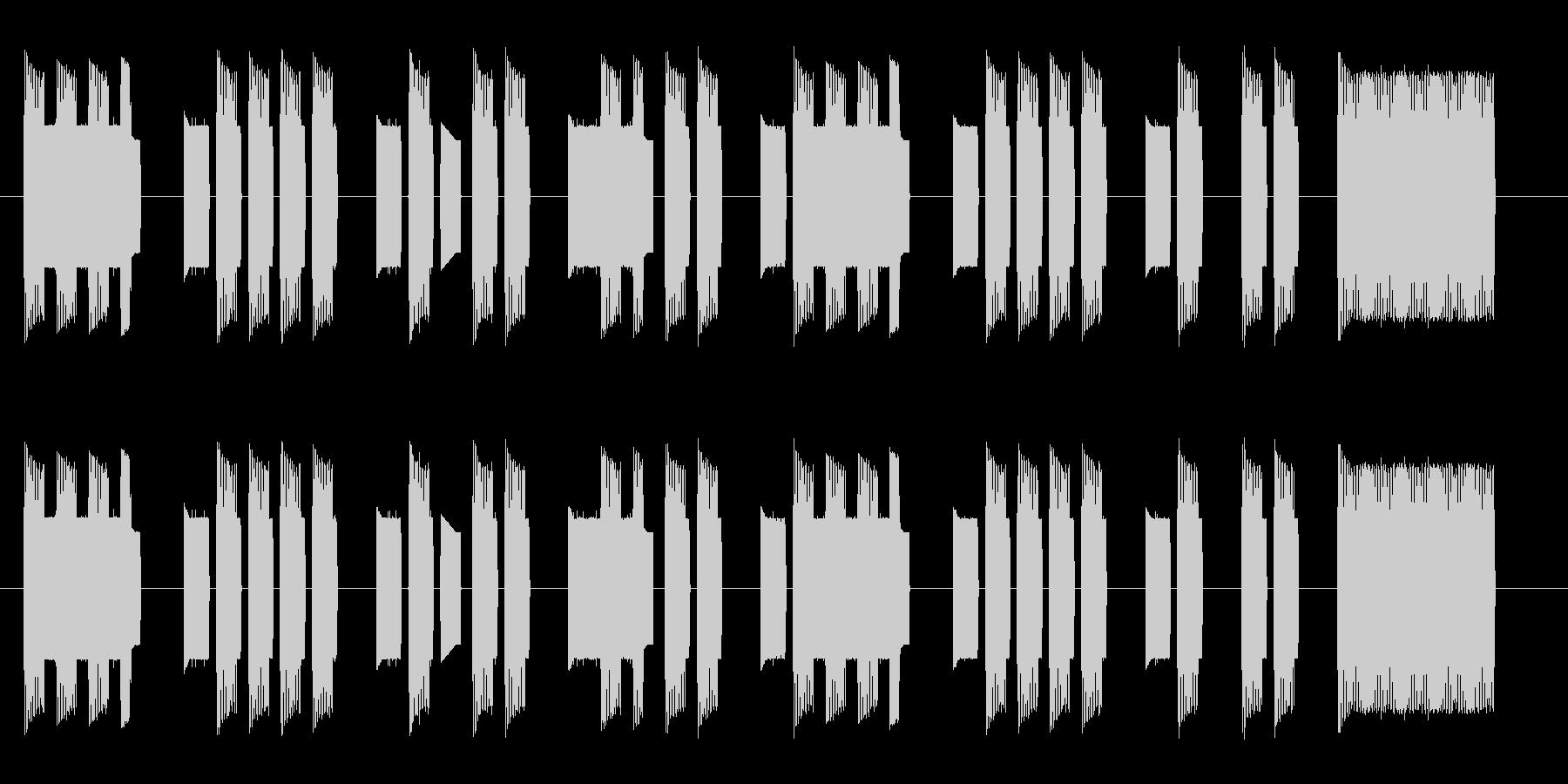【ファミコン】出撃の未再生の波形