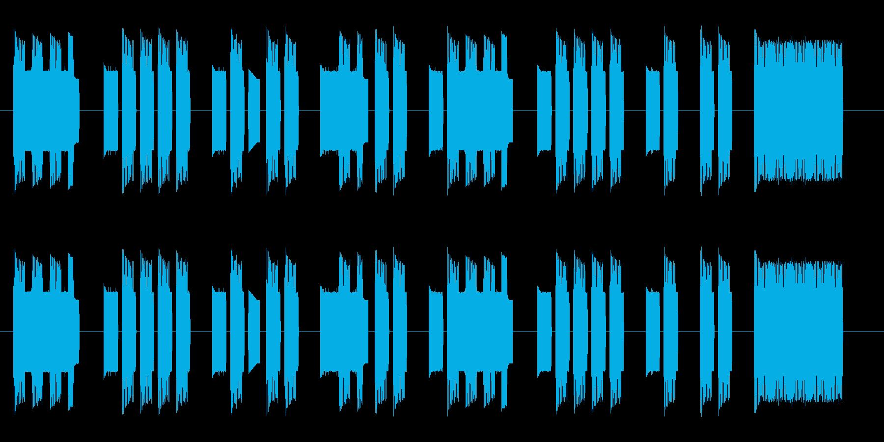 【ファミコン】出撃の再生済みの波形