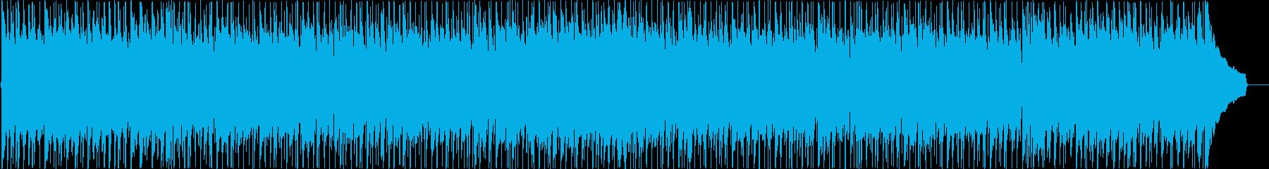 楽しい日常のわくわくを感じるBGMの再生済みの波形