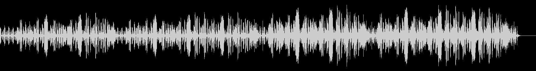 リコーダーとファゴットのコミカルなBGMの未再生の波形