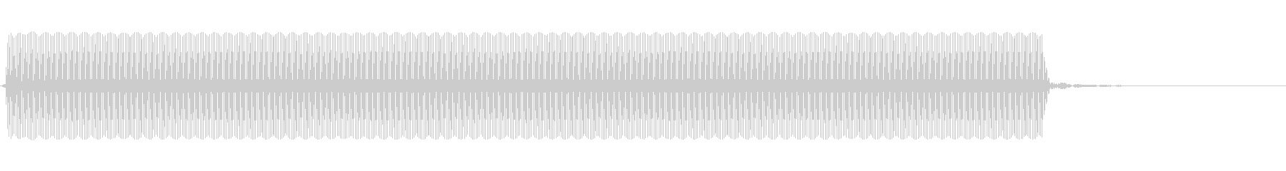 コンピューターのビープ音。ビープ音...の未再生の波形