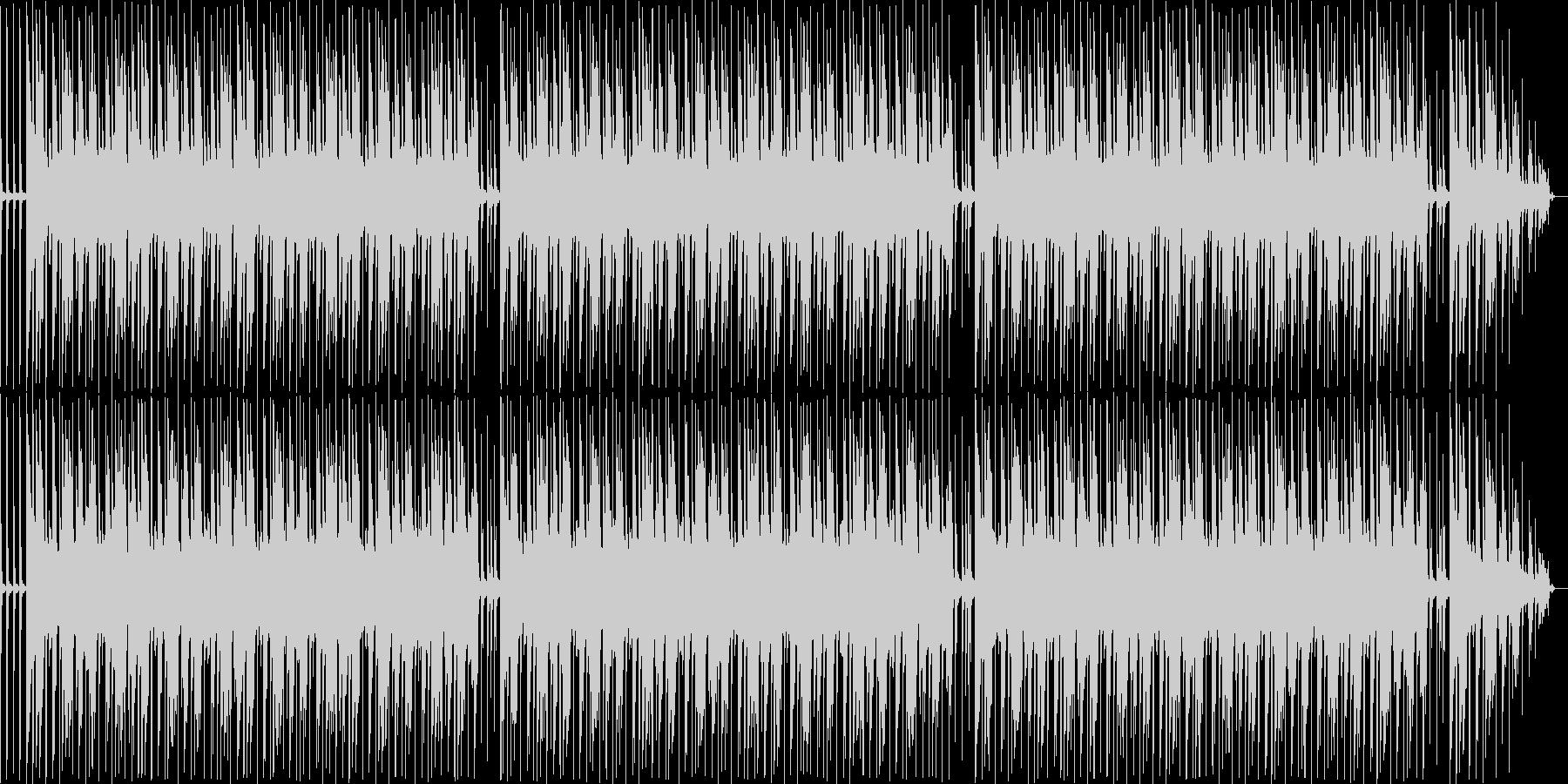 ほのぼのとした動画に使えるポップスBGMの未再生の波形