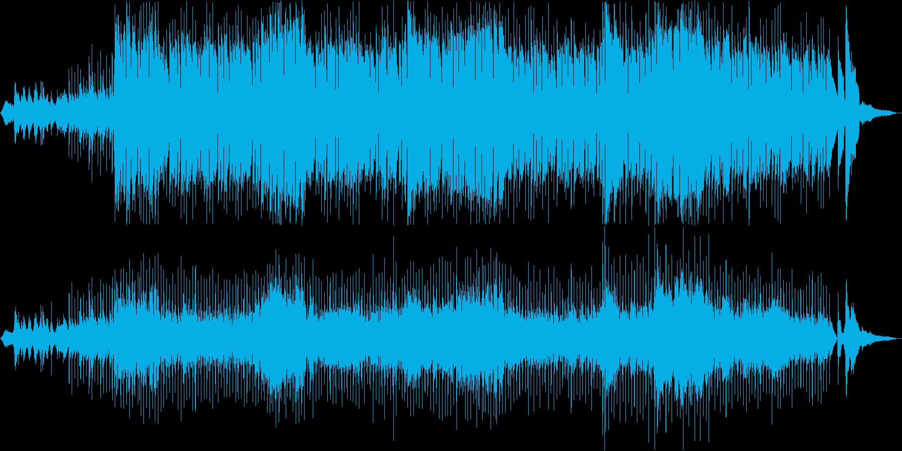 アイルランドとスコットランドの音楽...の再生済みの波形