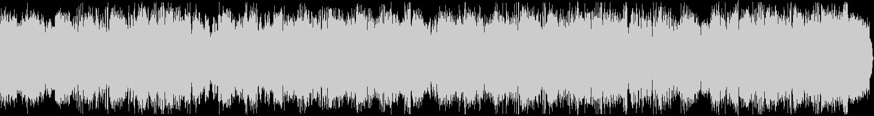 ハードなシンセがノリノリのEDMジングルの未再生の波形