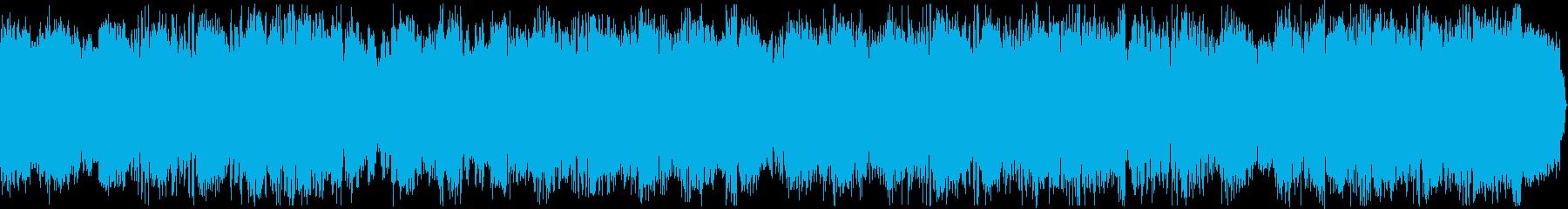 ハードなシンセがノリノリのEDMジングルの再生済みの波形