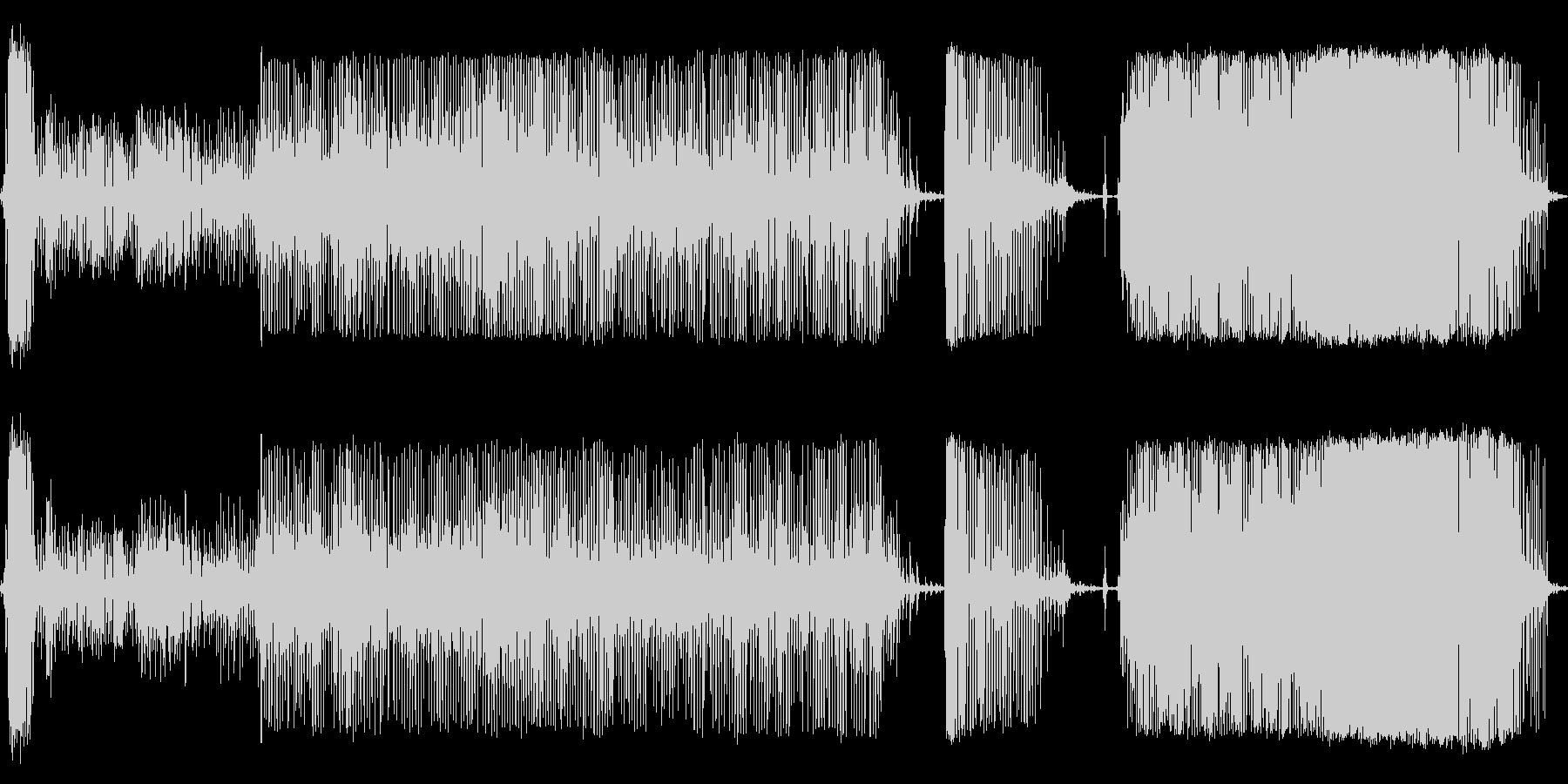 コインペイントミキサーの未再生の波形